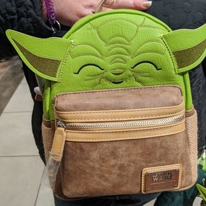 Loungefly Bags - Loungefly yoda backpack
